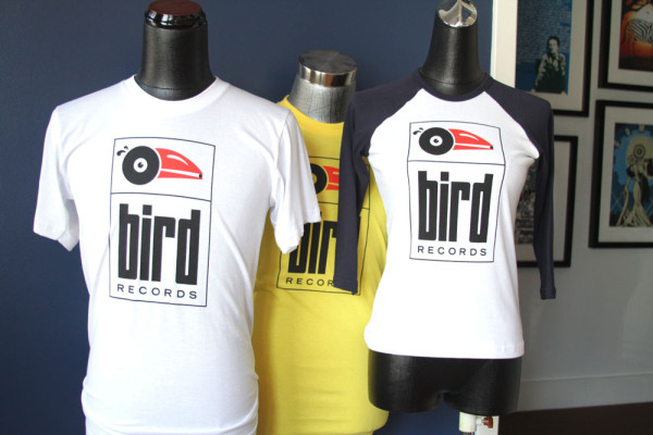 Bird Records Tee Shirts