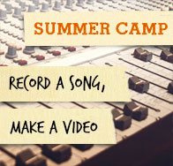 Summer camp at Bird - record a song, make a video