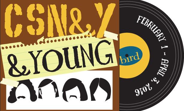 Crosby, Stills, Nash & Young & Young session at Bird