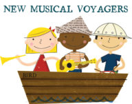 New Musical Voyagers preschool music class at Bird School of Music