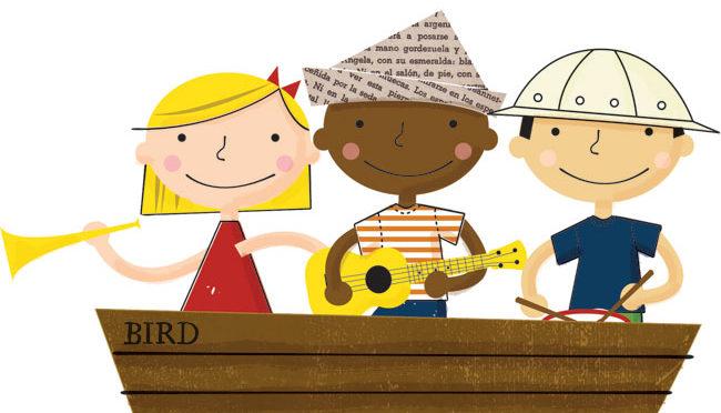 New Musical Voyagers preschool music class at Bird School of Music