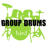 Group drums for all ages at Bird