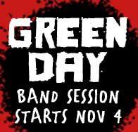Green Day band session at Bird - November 2019