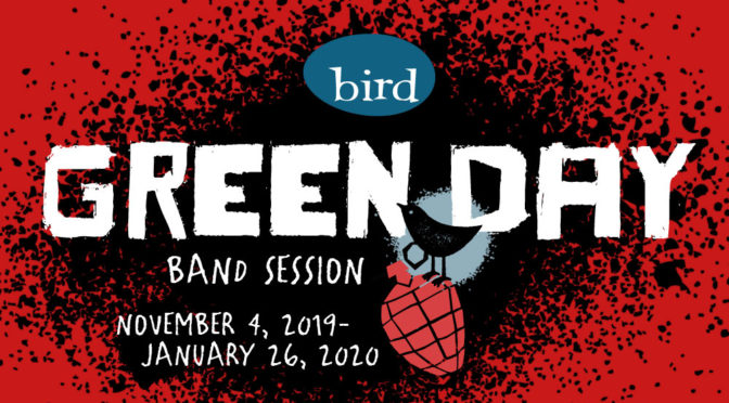 Green Day band session at Bird